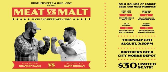 Brothers Beer Presents Meat vs Malt