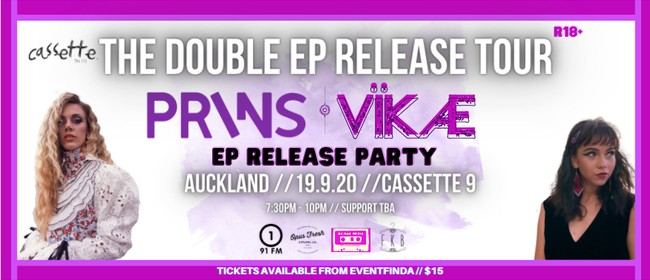 PRINS // VÏKÆ: The Double Ep Release Party: CANCELLED