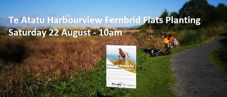 2020 August Te Atatu Harbourview Fernbird Flats Planting