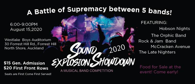 Sound Explosion Showdown 2020: POSTPONED