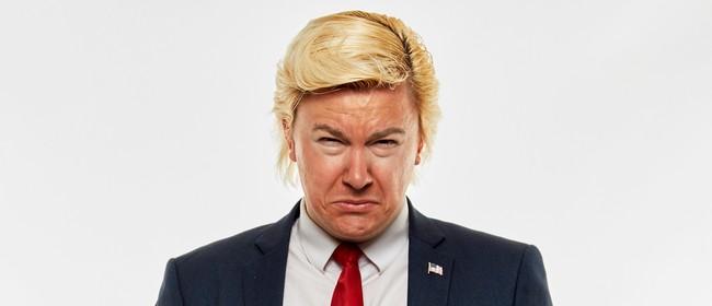 Comedy: Alexander Sparrow is DJ Trump