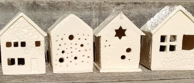 Clay House Candle Holder Class