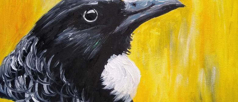 Paint and Wine Night - Kowhai Tui