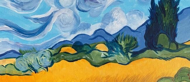 Paint and Wine Night - Wheat Field