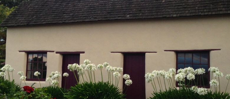 History of Cob Cottage Pop-Up Display