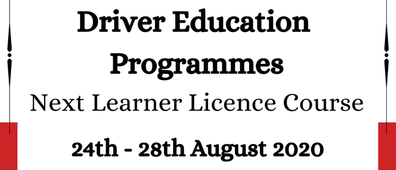 Driver Education Programme: Learners Licence Course
