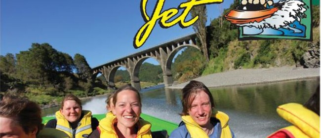 Jetboat Trip Through The Manawatu Gorge