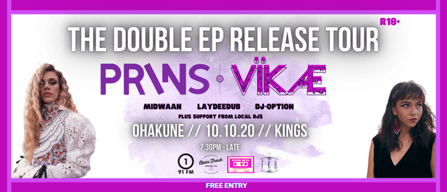 PRINS // VÏKÆ: The Double Ep Release Tour