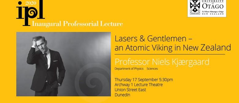 Inaugural Professorial Lecture – Professor Niels Kjærgaard: POSTPONED