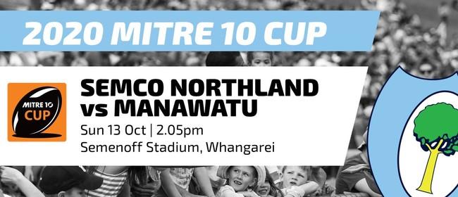 Mitre 10 Cup - Northland vs Manawatu