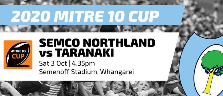 Mitre 10 Cup - Northland vs Taranaki