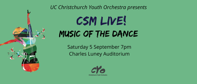 UC CYO presents CSM Live, Music of the Dance: CANCELLED
