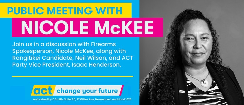 Public Meeting with ACT Candidate Nicole Mckee