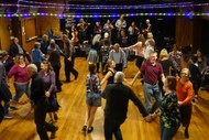 Ceilidh, Calling Dancers To Pull On Their Dancing Shoes