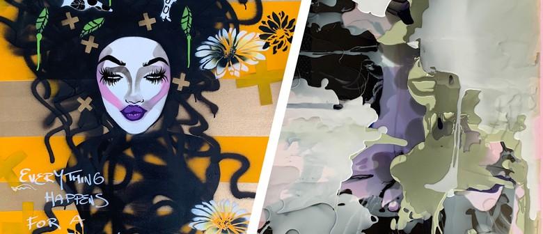 Art Exhibition - Alter Egos, Rachel Rush + Rush