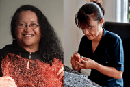 Artist Floor Talk: Eve Kireka and Akiko Diegel