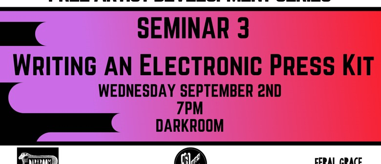 Seminar - Writing an Electronic Press Kit
