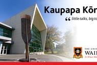 Kaupapa Kōrero - Little Talks, Big Topics
