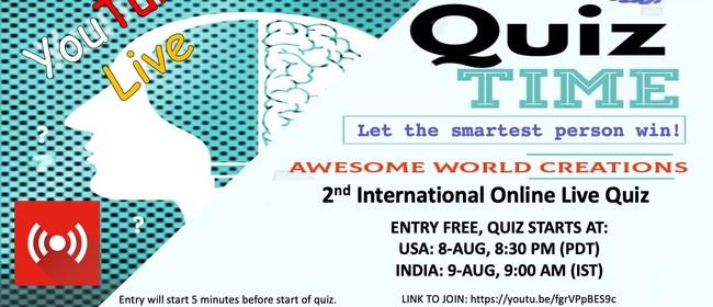 2nd International Online General Knowledge Quiz