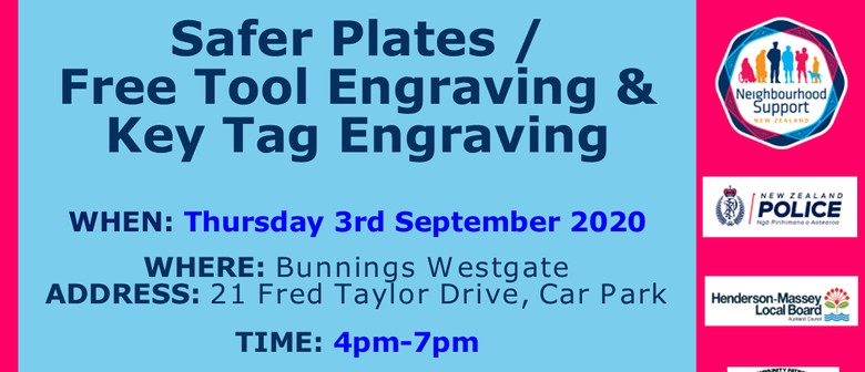 Safer Plates & Tool Engraving: POSTPONED