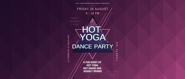 Hot Yoga Dance Party: CANCELLED