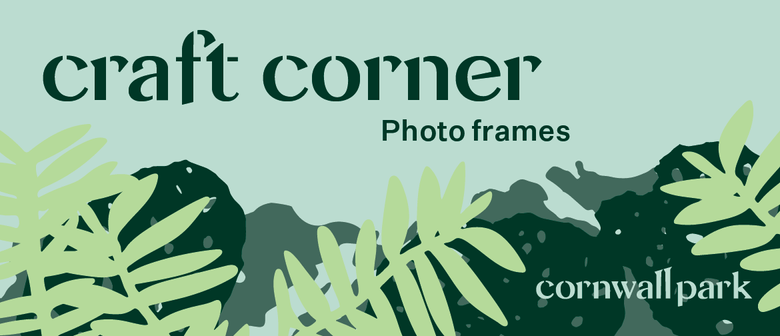 Craft Corner: Photo Frames