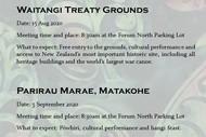 Trip to Parirau Marae, Matakohe