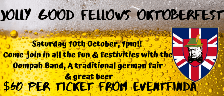 Jolly Good Fellows Oktoberfest: CANCELLED
