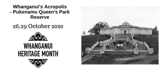 Whanganui's Acropolis - Pukenamu Queen's Park Reserve
