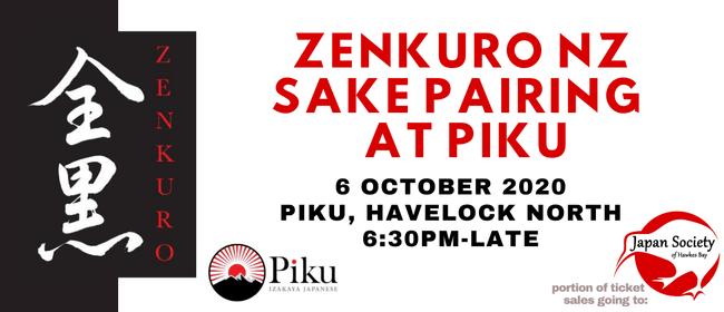 Zenkuro NZ Sake Pairing