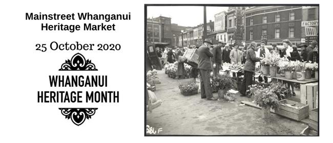 Mainstreet Whanganui Heritage Market