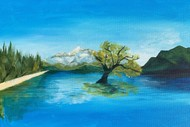 Paint and Wine Night - That Wanaka Tree