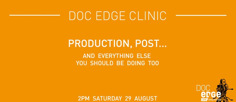 Doc Edge Clinic: Production, Post and Everything Else