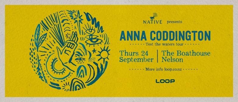 Anna Coddington - Test The Waters Tour