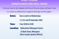 4-day Course Mindfulness and Well-being