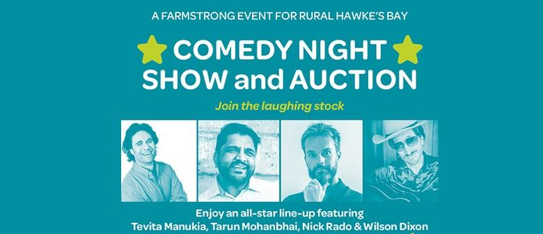Maraekakaho Farmstrong Comedy Night Show & Auction
