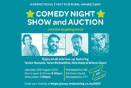 Maraekakaho Farmstrong Comedy Night Show & Auction