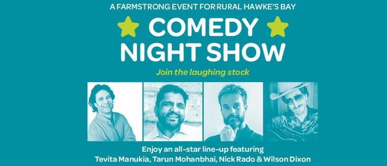 Waipawa Farmstrong Comedy Night Show