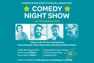Waipawa Farmstrong Comedy Night Show