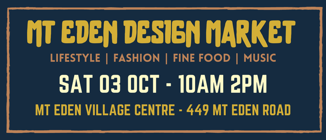 Mt Eden Design Market