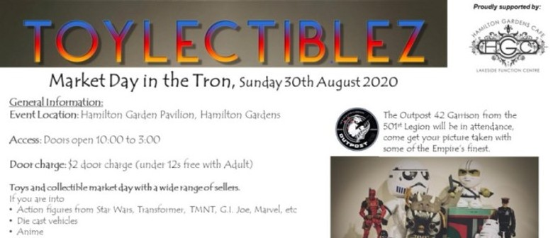 Toycolectiblez Market Day in the Tron - Postponed Covid: POSTPONED