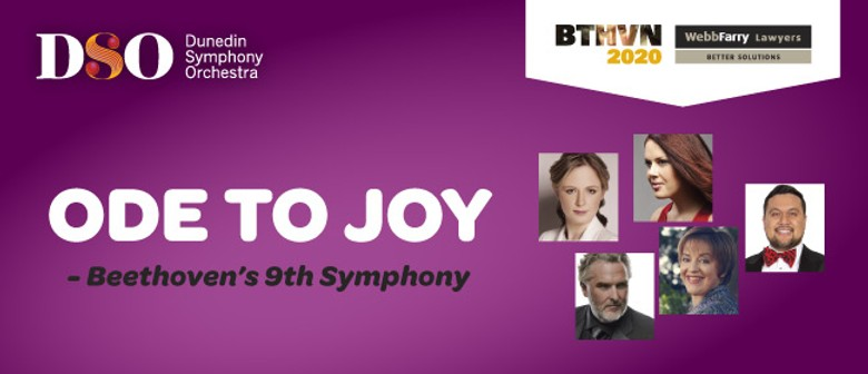 DSO : Webb Farry 'Ode To Joy': CANCELLED