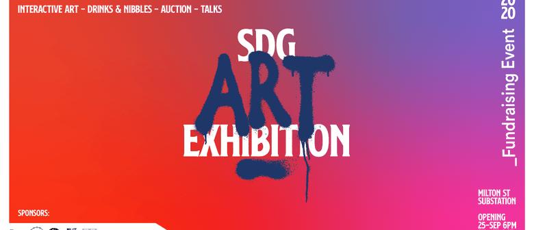 SDG Art Exhibition Launch Night