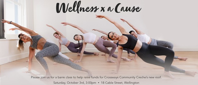 Barre Class and drinks to support Crossways Community Creche