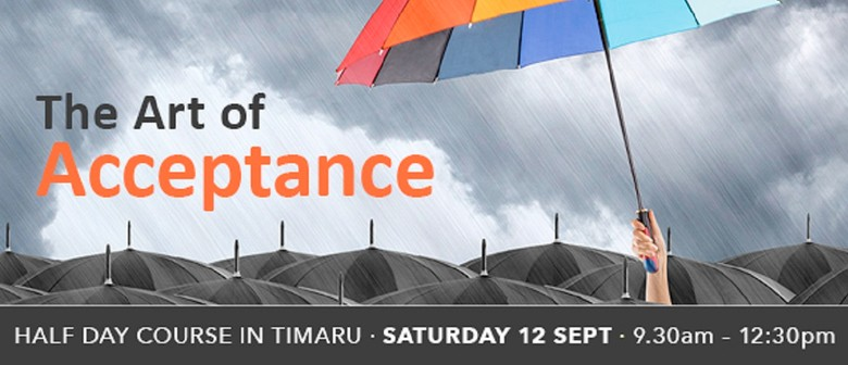 The Art of Acceptance Half Day Course