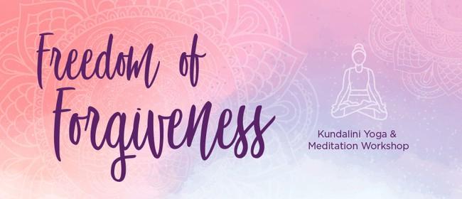 Yoga Workshop - Freedom of Forgiveness