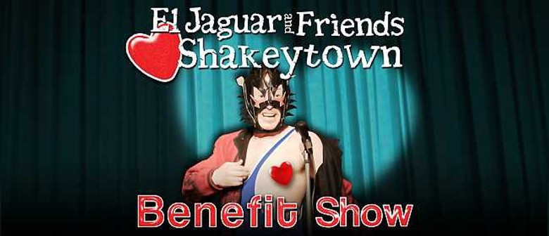 El Jaguar and Friends Heart Shakeytown