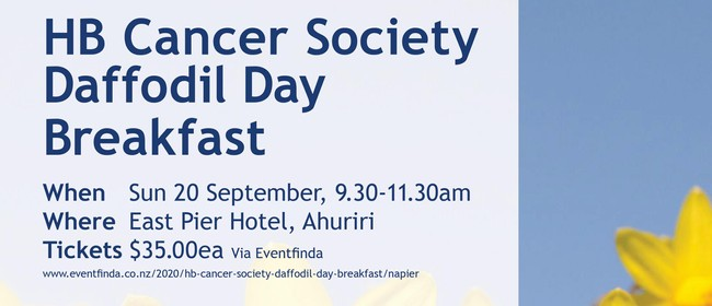 HB Cancer Society Daffodil Day Breakfast: CANCELLED