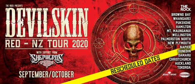 Devilskin - Red - NZ Tour 2020