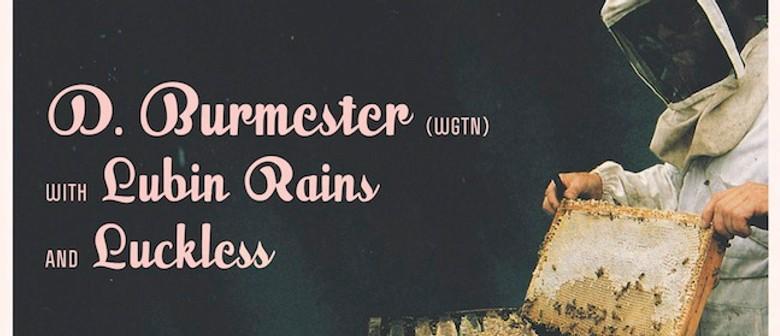 D Burmester (Wgtn), Lubin Rains & Luckless